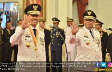 Gubernur Baru Riau Disambut Api Karhutla di Tiga Kabupaten - JPNN.com