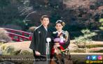 Pakai Kimono, Syahrini Pamer Kemesraan dengan Reino Barack - JPNN.COM