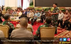 Panglima Mutasi 72 Perwira Tinggi TNI, Nih Daftar Namanya - JPNN.COM