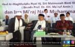 Kiai Ma'ruf Awali Kampanye Terbuka dengan Doa Bersama di Haul Ibunda - JPNN.COM