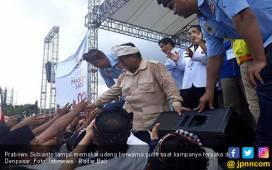 Kampanye di Bali, Prabowo: Hai Elite-Elite di Jakarta, Sudah Saatnya Kau Minggir - JPNN.COM