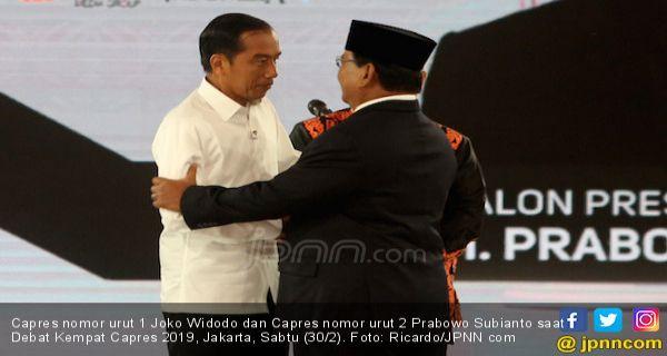 Seru Debat Jokowi Dan Prabowo Soal Hubungan Internasional