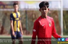 AFC Tubize vs Marcet Academy: Firza Andika Sukses Cetak Dua Gol - JPNN.com