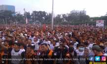 Puluhan Ribu Kader Pemuda Pancasila Sumut Pastikan Mendukung Jokowi - Ma'ruf