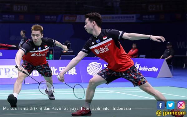 Sikat Ganda Putra Tiongkok, Minions Ketemu Kamura / Sonoda di Semifinal - JPNN.com