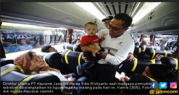 Asuransi Jasindo Berangkatkan 1.320 Pemudik Secara Gratis - JPNN.COM