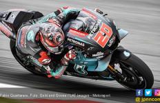 Baru Operasi Lengan, Fabio Quartararo Menggila di Hari Pertama FP MotoGP Catalunya - JPNN.com