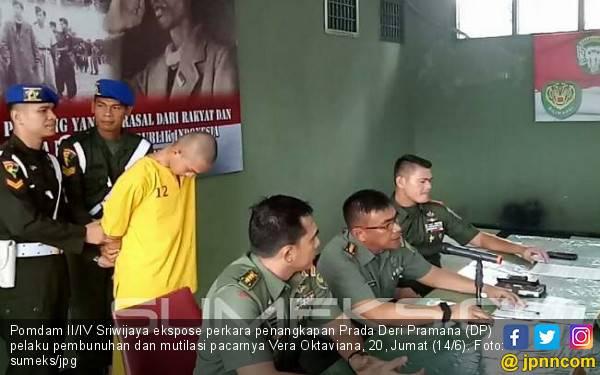 Pelarian Prada Deri Permana Terlacak setelah Dia Telepon Tantenya - JPNN.com