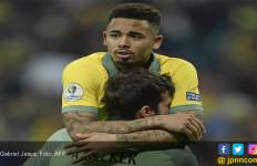 Brasil vs Argentina: Jesus Pengin Menendang Aguero dan Mengejek Otamendi - JPNN.com
