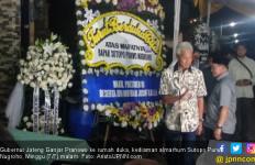 Setelah Menteri Retno, Ganjar Pranowo Datang Bertakziah ke Kediaman Almarhum Sutopo - JPNN.com