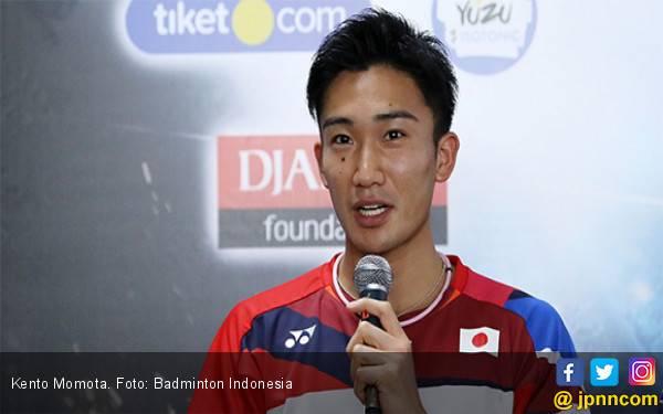 Ini Pemain Indonesia yang dikagumi Kento Momota - JPNN.com
