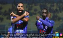 Milo Puas Singo Edan Tumbangkan Badak Lampung FC di Kandang