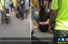 Pemalak di Jalan Macan Lindungan Tewas Bersimbah Darah Ditembak Sopir Truk - JPNN.com