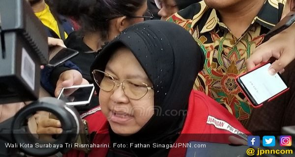 APBD Kota Surabaya 2020 Lumayan Besar, Bu Risma Bersyukur - JPNN.COM