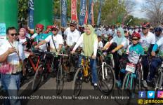 Gowes Nusantara 2019 Etape Bima Usung Pesan Perdamaian untuk Semua - JPNN.com