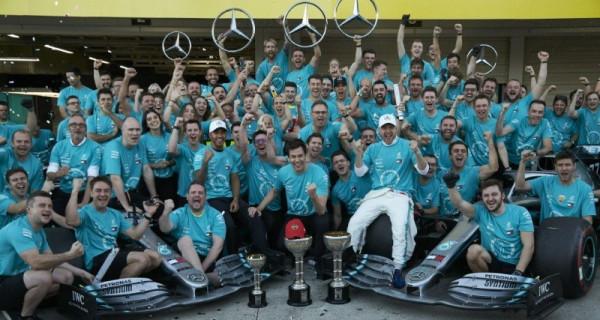 Mercedes Rebut Gelar Juara Dunia Konstruktor F1 untuk Keenam Kali - JPNN.com