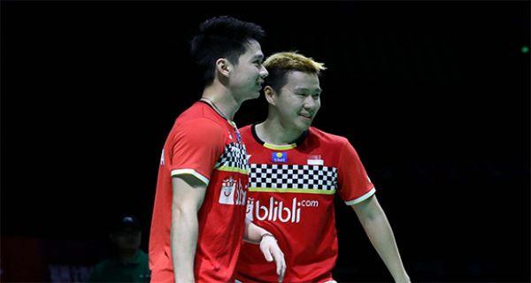 Lihat Pukulan Ajaib Kevin yang Memastikan Minions Juara di Fuzhou China Open 2019 - JPNN.COM