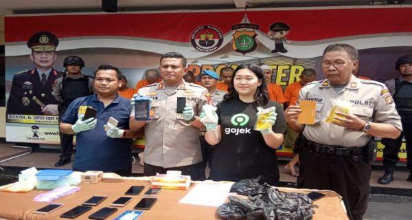 Polres Depok dan GoJek Bongkar Sindikat Order Fiktif - JPNN.COM