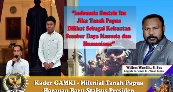 Pengurus GAMKI jadi Stafsus Presiden, Milenial Tanah Papua untuk Konsep Indonesia Sentris - JPNN.com