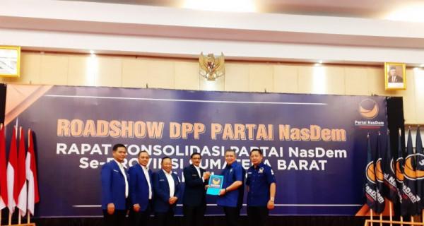 Jelang Pilkada, NasDem Sumbar Ganti Ketua - JPNN.com