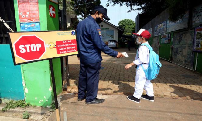 610 Sekolah Di Jakarta Menggelar Pembelajaran Tatap Muka