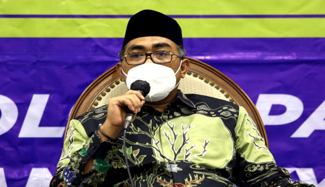 Wakil Ketua MPR Jazilul Fawaid menjadi pembicara bpada diskusi Refleksi 76 Tahun MPR sebagai Rumah Kebangsaan Pengawal Ideologi Pancasila dan Kedaulatan Rakyat di Gedung DPR/MPR/DPD, Jakarta, Senin (30/8). Foto: Ricardo - JPNN.com