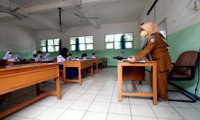 168 SMP di Kota Tangsel Mulai Melakukan PTM Terbatas