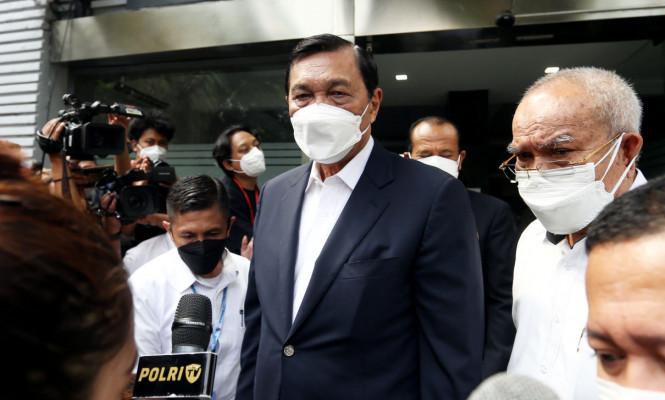 Luhut Binsar Diperiksa Polda Metro Jaya