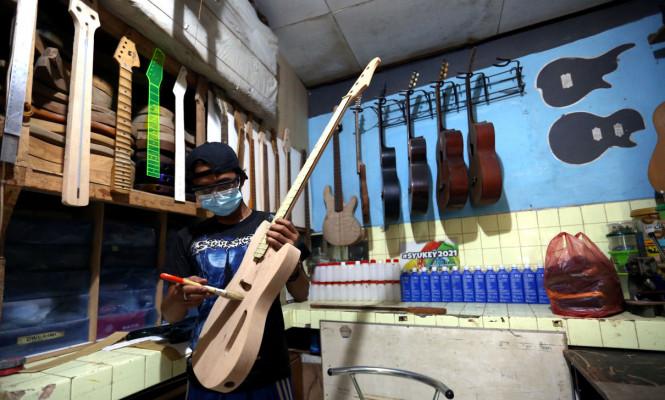 Pembuatan Gitar Listrik