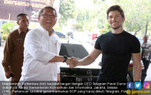 Bos Telegram Pavel Durov ke Indonesia - JPNN.COM