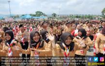 Ribuan Peserta Ikuti Peringatan Hari Pramuka Ke-56 Kwarda Jawa Tengah - JPNN.COM