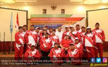 Pelepasan dan Pengukuhan Kontingen Indonesia - JPNN.COM