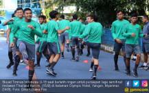 Timnas Indonesia U-19 Gelar Latihan Ringan Jelang Lawan Thailand - JPNN.COM