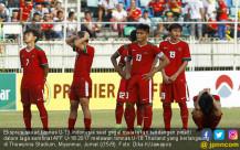 Kesedihan Timnas Indonesia U-19 usai Dikalahkan Thailand - JPNN.COM