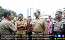 Hari Pertama Kerja Gubernur dan Wakil Gubernur DKI Jakarta - JPNN.COM