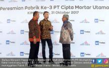 Peresmian Pabrik Ke-3 PT Cipta Mortar Utama - JPNN.COM