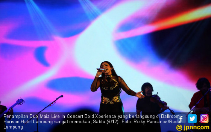 Duo Maia Live In Concert Bold Xperience - JPNN.COM