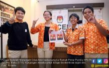 Pelajar Sambangi Rumah Pintar Pemilu KPU - JPNN.COM