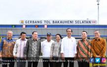 Jokowi Resmikan Jalan Tol Bakauheni-Terbanggi Besar - JPNN.COM