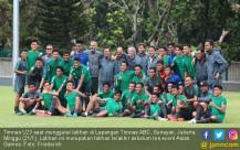 Timnas U23 Menggelar Latihan Jelang Asian Games - JPNN.COM