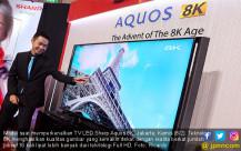 Sharp Luncurkan TV LED Sharp Aquos 8K - JPNN.COM