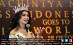 Achintya Nilsen Miss Indonesia - JPNN.COM