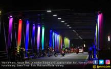 Jembatan Soehat di Malam Hari - JPNN.COM