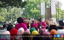 Ibu Iriana dan Mufidah Kalla Rayakan Hari Kartini - JPNN.COM