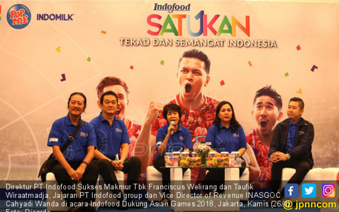 Indofood Dukung Asian Games 2018 - JPNN.COM