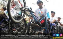 Parade Menuju 100 Hari Asian Games - JPNN.COM