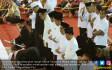 Jokowi Salat Tarawih Perdana di Masjid Istiqlal - JPNN.COM