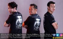 Reza Rahadian, Hanung Bramantyo, dan Dion Wiyoko - JPNN.COM