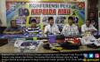 Polda Riau Konpers Teroris di UR - JPNN.COM