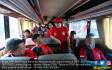PDIP Berangkatkan 8829 Pemudik Dengan 143 Bus - JPNN.COM